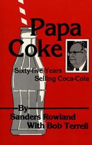 Cover of: Papa Coke | Sanders Rowland