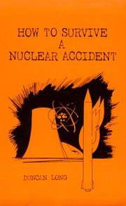 Cover of: How to survive a nuclear accident