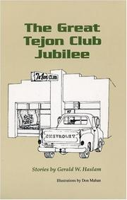 Cover of: The great Tejon Club jubilee: Stories