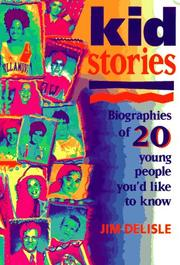 Cover of: Kidstories | James R. Delisle