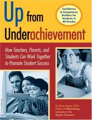 Cover of: Up from underachievement | Diane Heacox