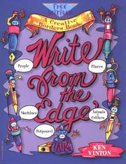 Cover of: Write from the edge | Ken Vinton