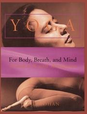 Cover of: Yoga for Body, Breath, and Mind | A. G. Mohan