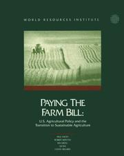 Cover of: Paying the Farm Bill