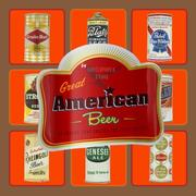 Cover of: Great American beer: 50 brands that shaped the 20th century