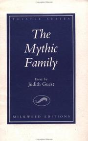 Cover of: The mythic family