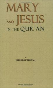 Cover of: The Story of Mary and Jesus in the Quran