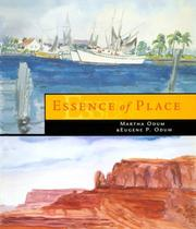 Cover of: Essence of place