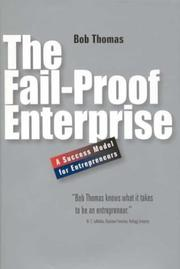 Cover of: The Fail-proof Enterprise: A Success Model for Entrepreneurs