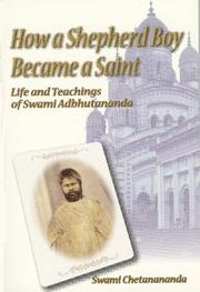 Cover of: How a Shepherd Boy Became a Saint