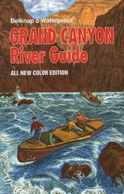 Cover of: Grand Canyon River Guide | Buzz Belknap
