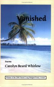 Cover of: Vanished