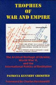Cover of: Trophies of war and empire