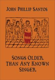 Cover of: Songs older than any known singer