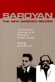 Cover of: New Saroyan Reader: A Connoisseur's Anthology of the Writings of William Saroyan