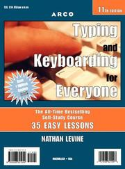 Cover of: Arco Typing and Keyboarding for Everyone