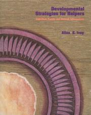 Cover of: Developmental Strategies for Helpers: Individual, Family, and Network Interventions