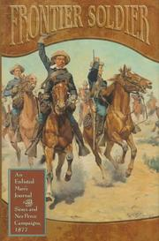 Cover of: Frontier soldier | William Frederick Zimmer