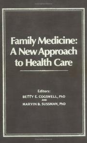 Cover of: Family Medicine | Betty E. Cogswell