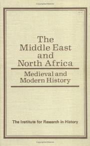 Cover of: The Middle East and North Africa | Patricia J. F. Rosof