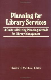Cover of: Planning for Library Services