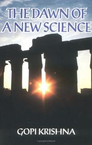 Cover of: The Dawn of a New Science