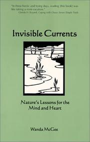 Cover of: Invisible currents | Wanda McGee