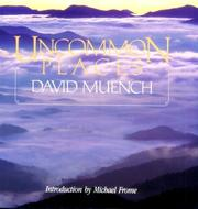 Cover of: Uncommon places | David Muench