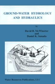 Publisher water resources publications open library ground water hydrology and hydraulics by david b mcwhorter fandeluxe Image collections