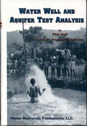 Publisher water resources publications llc open library water well and aquifer test analysis by phil hall fandeluxe Image collections