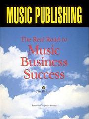 Cover of: Music publishing | Tim Whitsett