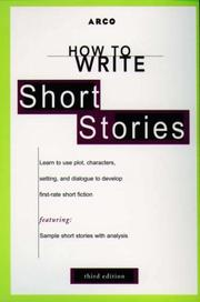 Cover of: How to Write Short Stories