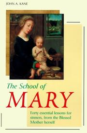Cover of: The School of Mary