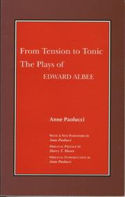 From tension to tonic by Anne Paolucci