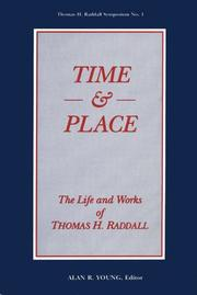 Cover of: Time and Place