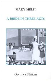Cover of: A bride in three acts