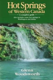 Cover of: Hot springs of western Canada