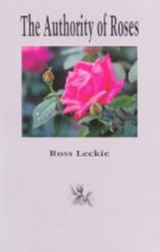 Cover of: The authority of roses