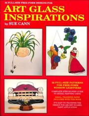 Cover of: Art Glass Inspirations | Sue Cann