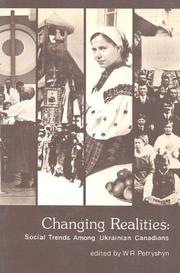 Cover of: Changing realities | edited by W. Roman Petryshyn.