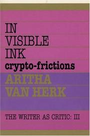 Cover of: In visible ink