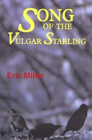 Cover of: Song of the vulgar starling