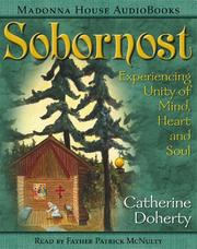 Cover of: Sobornost  | Catherine De Hueck Doherty