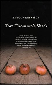 Cover of: Tom Thomson's shack
