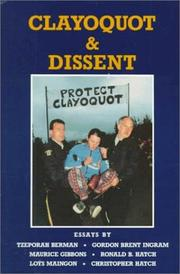 Cover of: Clayoquot & dissent |