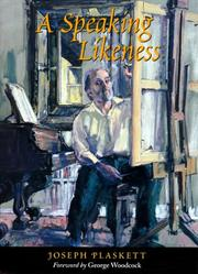 Cover of: A speaking likeness | Joe Plaskett