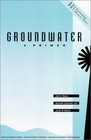 Cover of: Groundwater, a primer