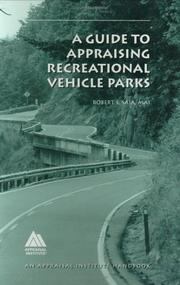 Cover of: A guide to appraising recreational vehicle parks | Robert S. Saia