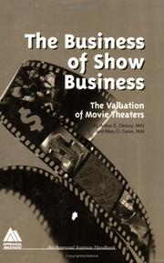 Cover of: The business of show business