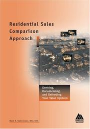 Cover of: Residential Sales Comparison Approach